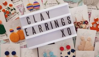 Clay-earrings