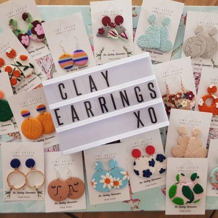 Clay-earrings