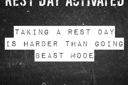 Rest day activated