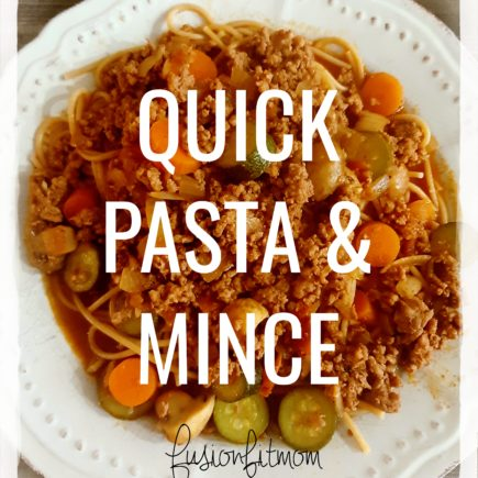 Pasta and Mince
